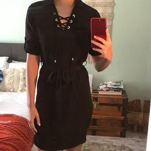 Calvin Klein Black Business Dress